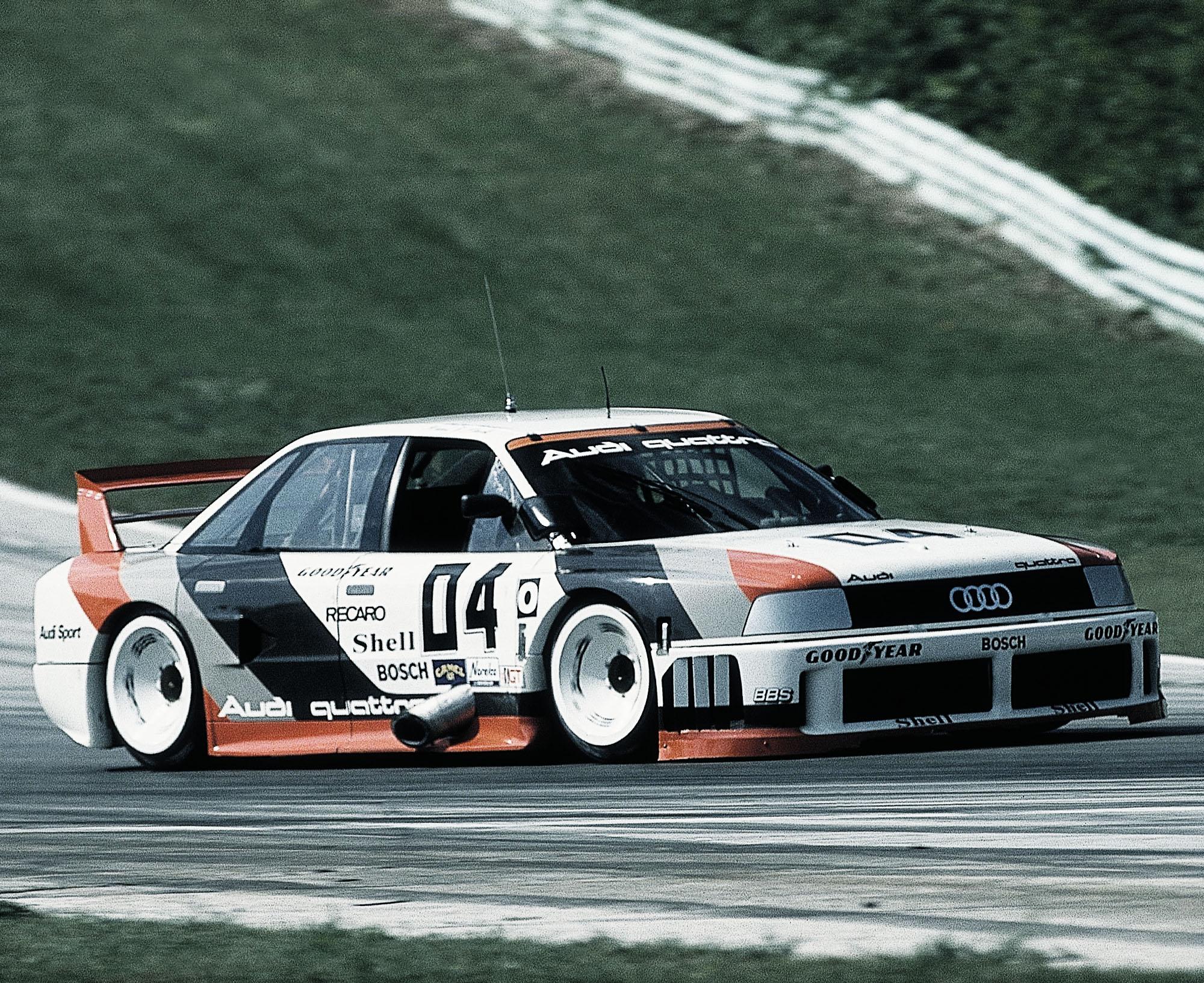 Der legendäre Audi 90 quattro IMSA GTO von 1989.