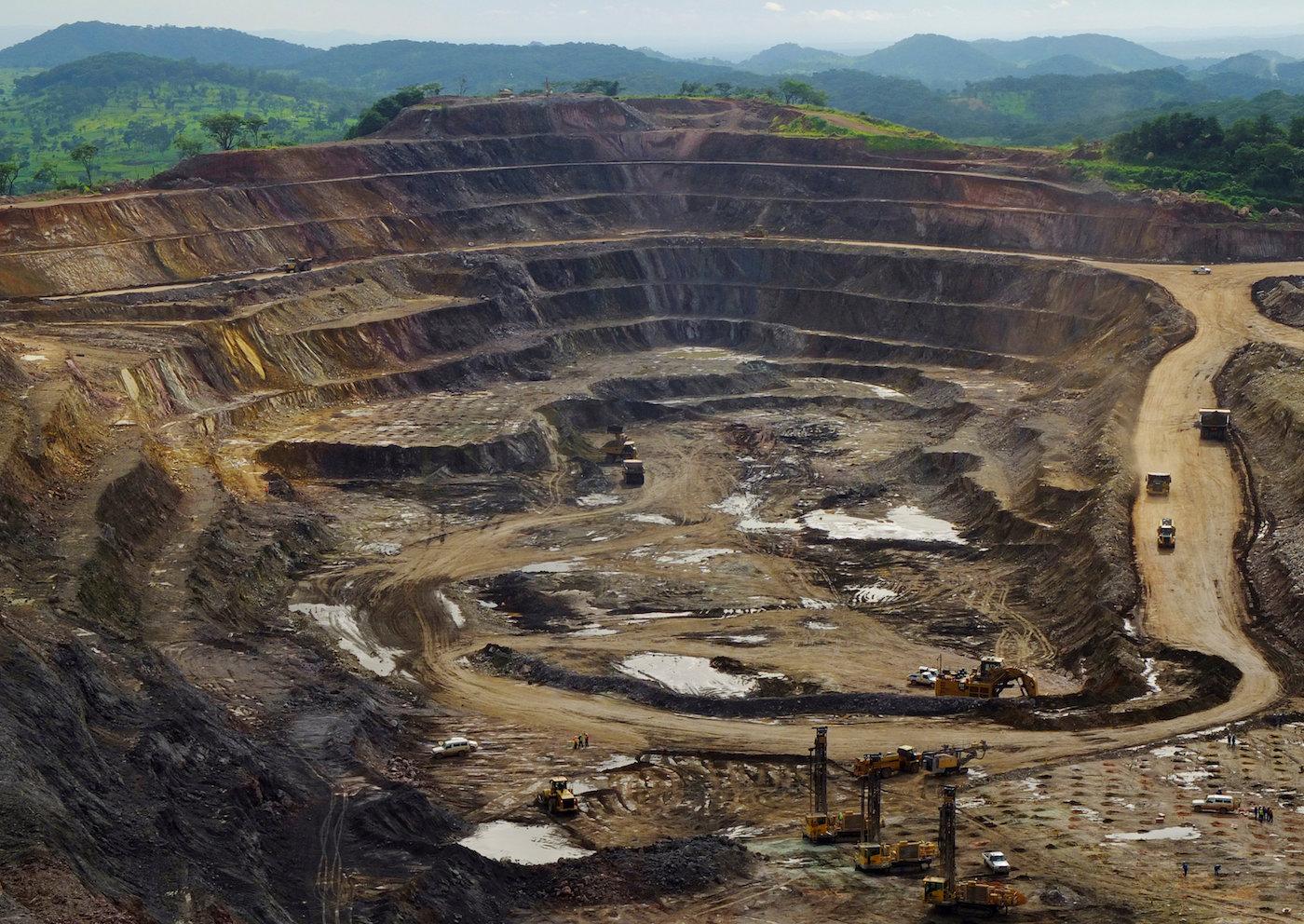 Una miniera di cobalto e rame in Congo. (Reuters)