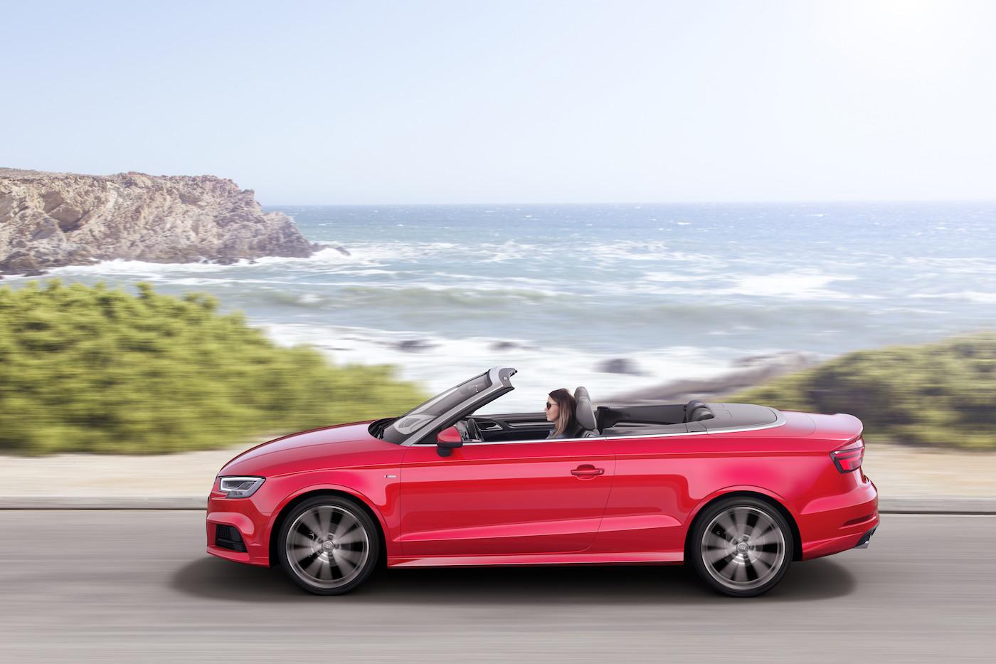 L'idéal pour l'été: Mobility propose aussi des Audi A3 décapotables. (Audi)