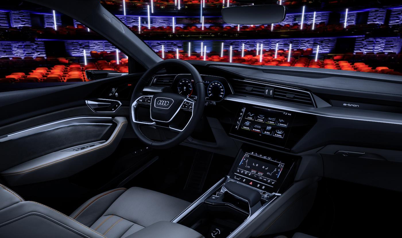Das Cockpit des Prototypen. (Audi)