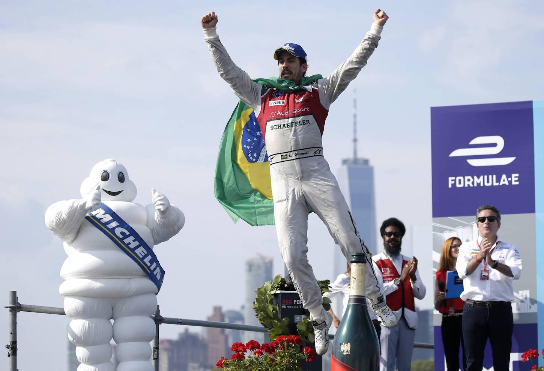 A New York, nella prima corsa di sabato, Lucas Di Grassi si è piazzato in prima posizione. (Imago)