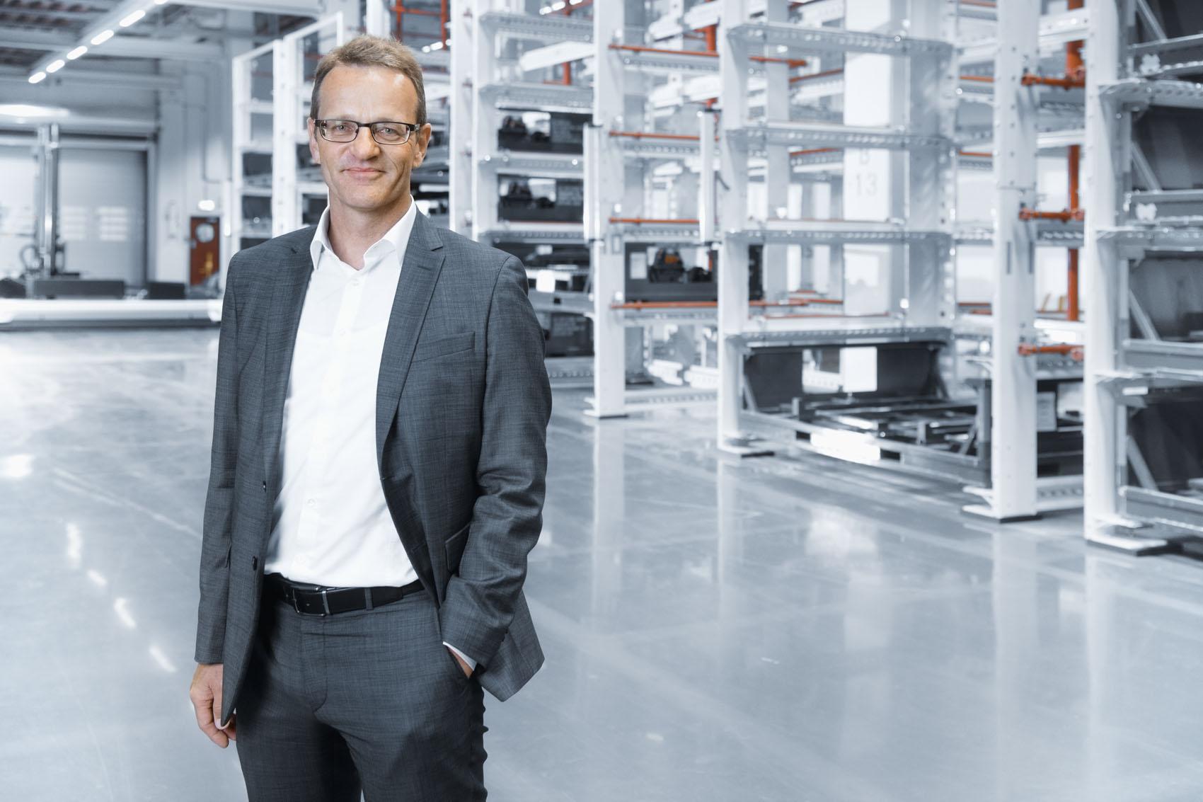 Le chef de projet Bertram Günter et son équipe ont entièrement remanié la production de l'Audi e-tron. (Stefan Warter)