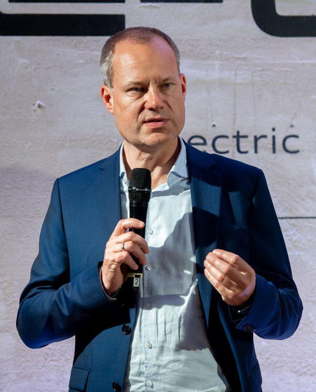 Jens van Eikels in Zürich. (Tom Lüthi)