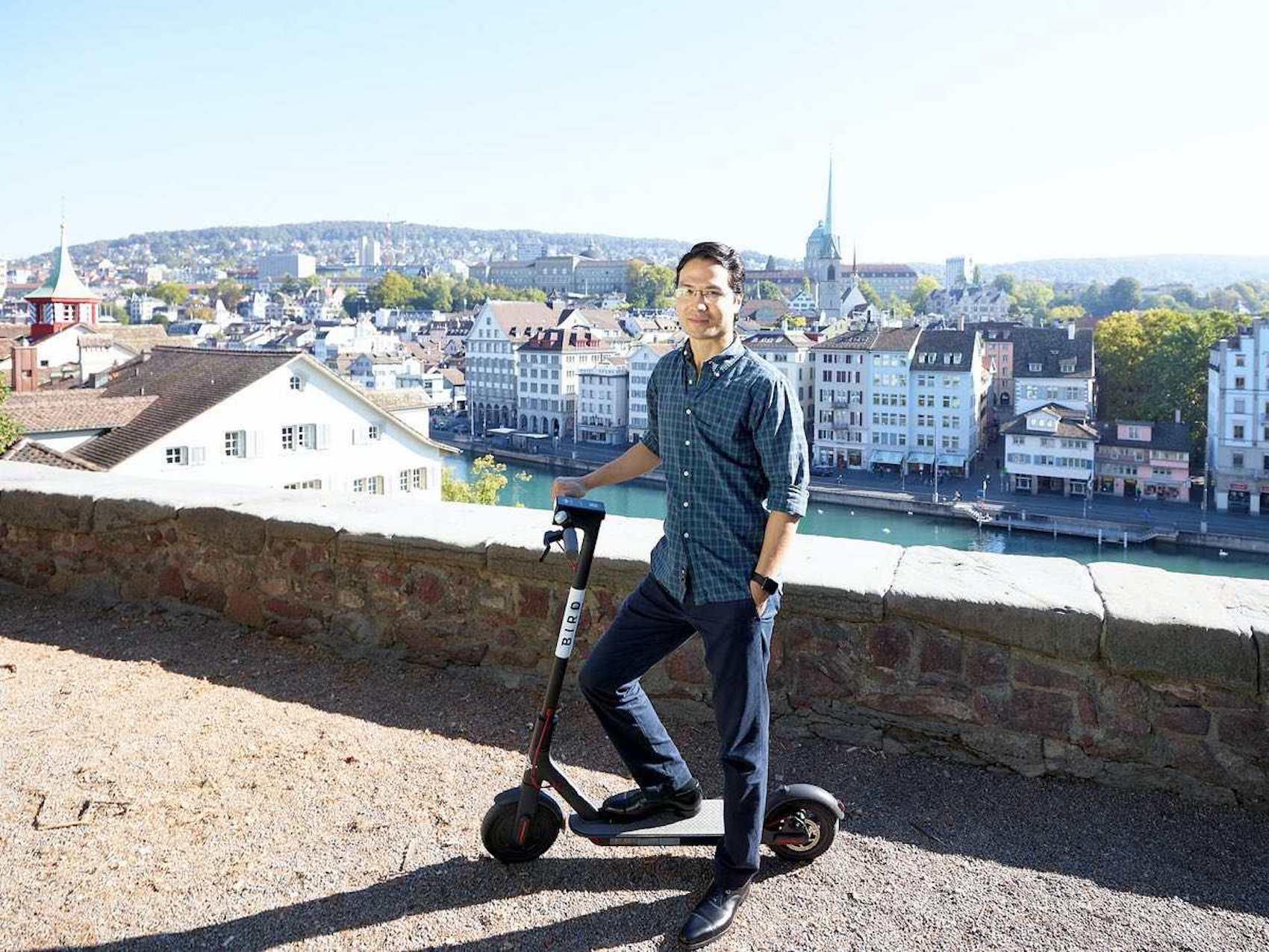 Christian Gessner, direttore generale di Bird, a Zurigo. (ZVG)