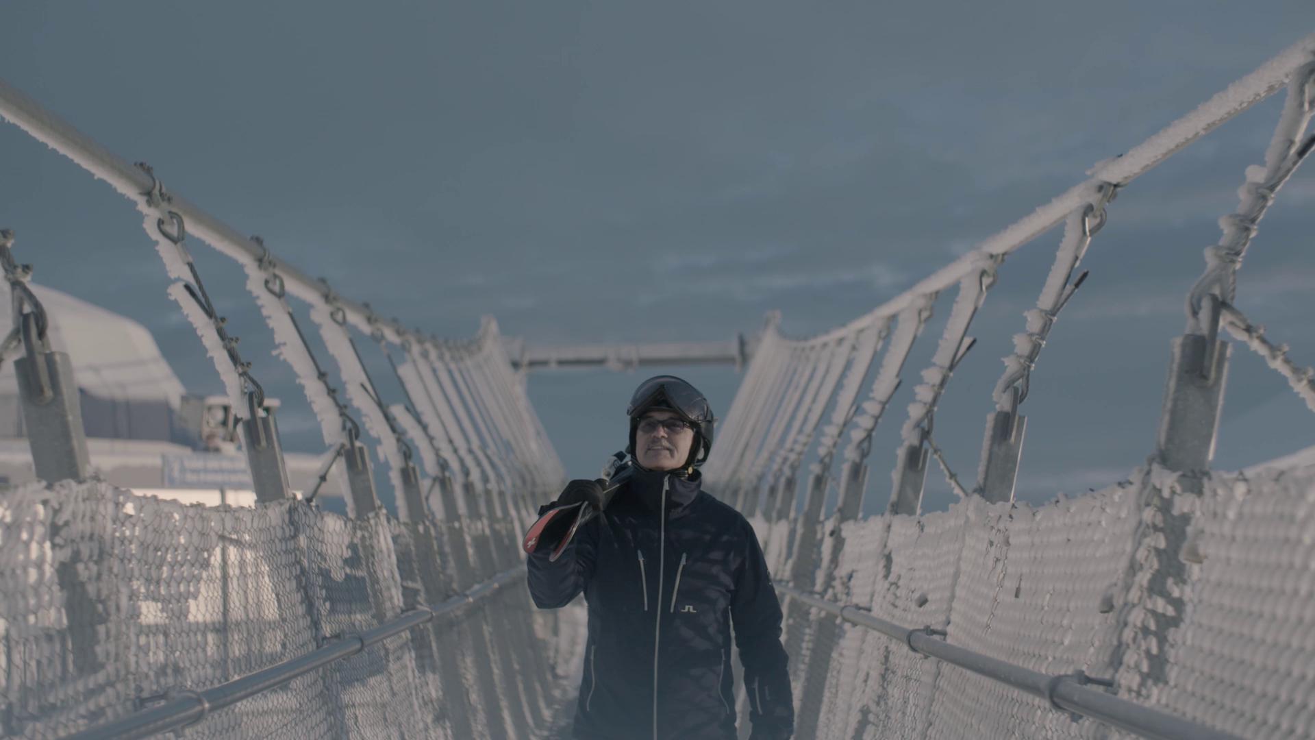 «Der weltweit erste digitale Ski.» Thomas Koller von «five star».