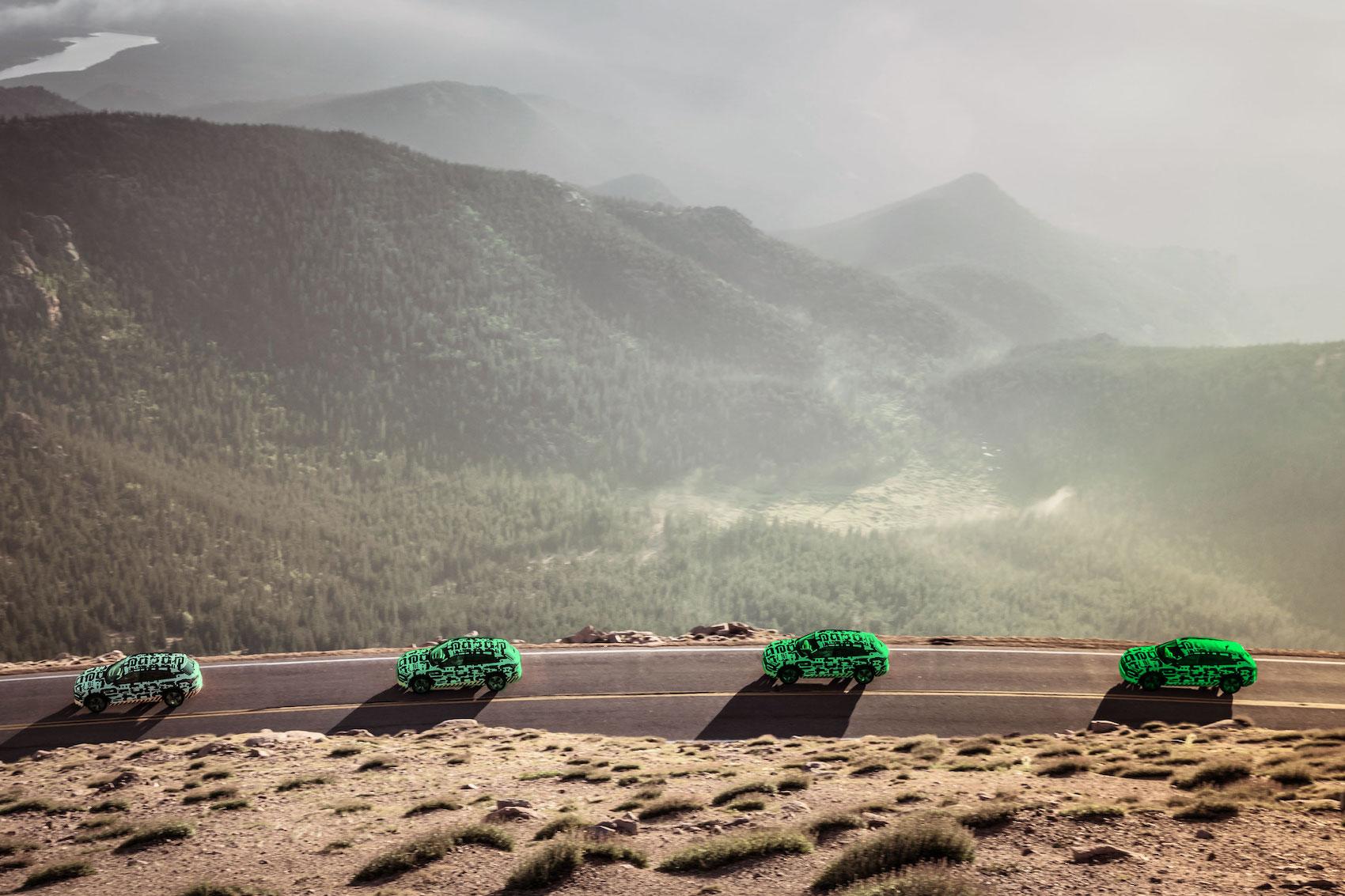 Un'auto elettrica è green quanto l'energia che la alimenta. (AUDI/Post-produzione: Brand Studio)