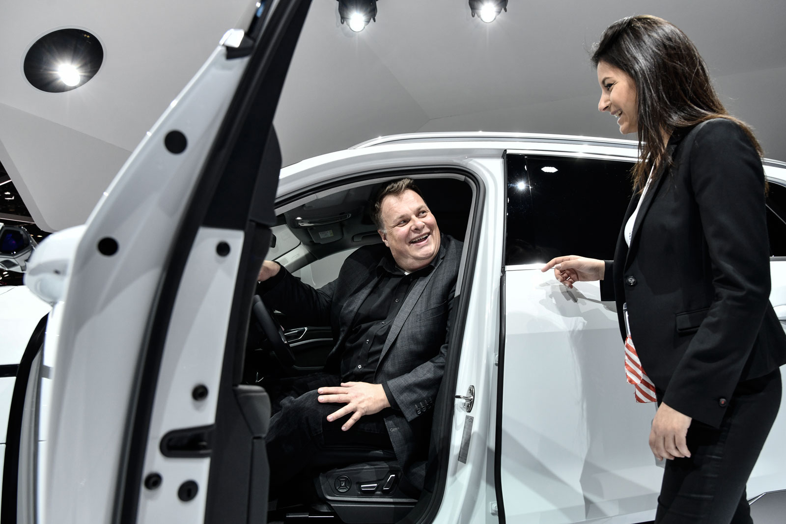 Lars Thomsen si immagina un futuro del trasporto «a basso costo, in sicurezza e rilassato».