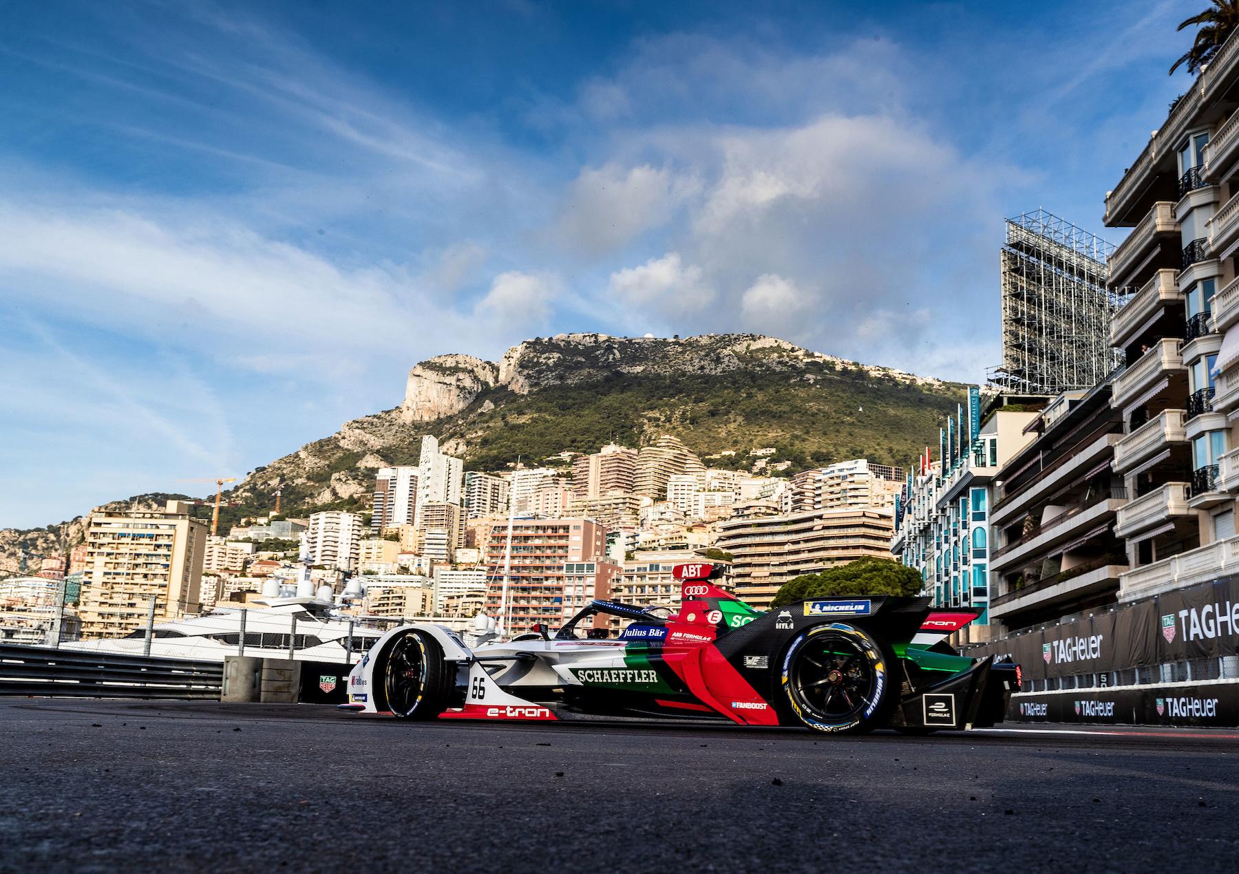 Dieses Jahr stand auch Monaco auf dem Renn-Kalender. (Audi Communications Motorsport/Michael Kunkel)