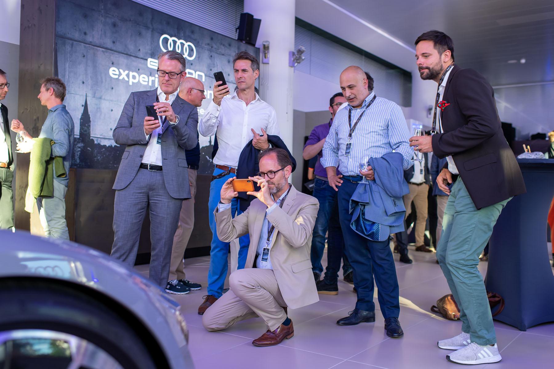 Quelques impressions de l'Audi e-tron experience center, à l'Utoquai 47 à Zurich.