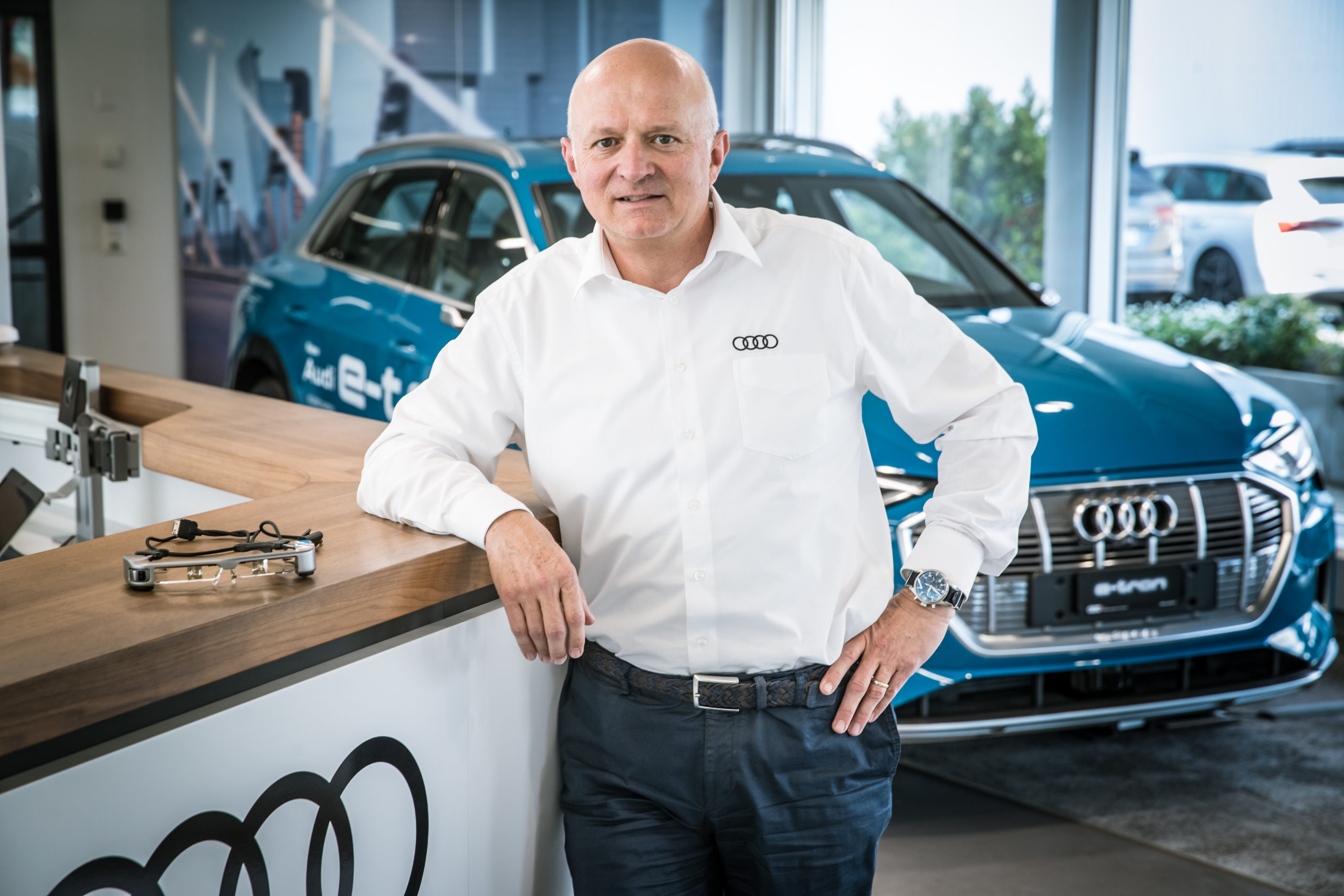 L'esperto di elettromobilità Peter Schmid. (Philippe Rossier)