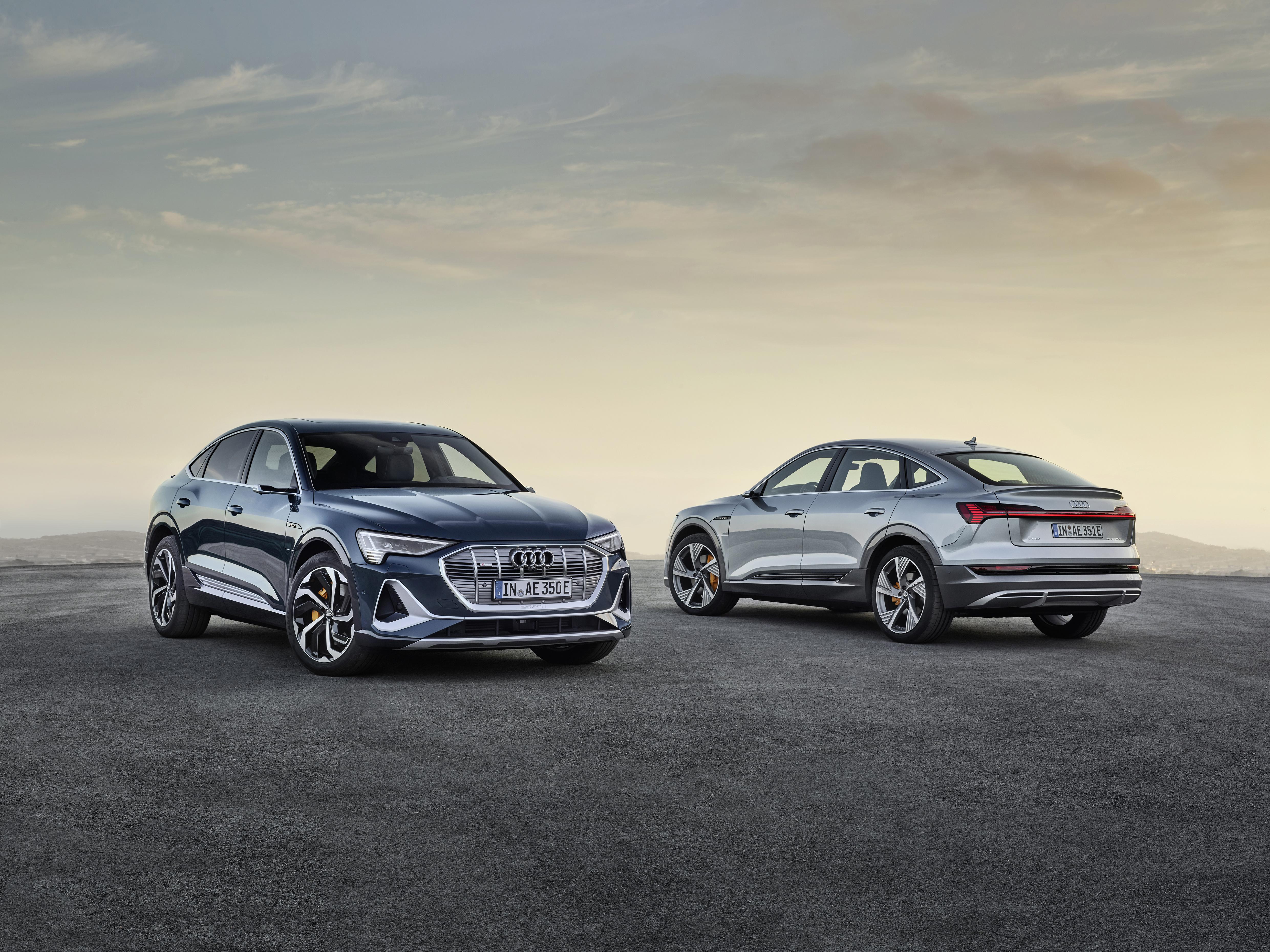 L'Audi e-tron Sportback est encore plus aérodynamique que sa sœur, l'Audi e-tron. (AUDI)