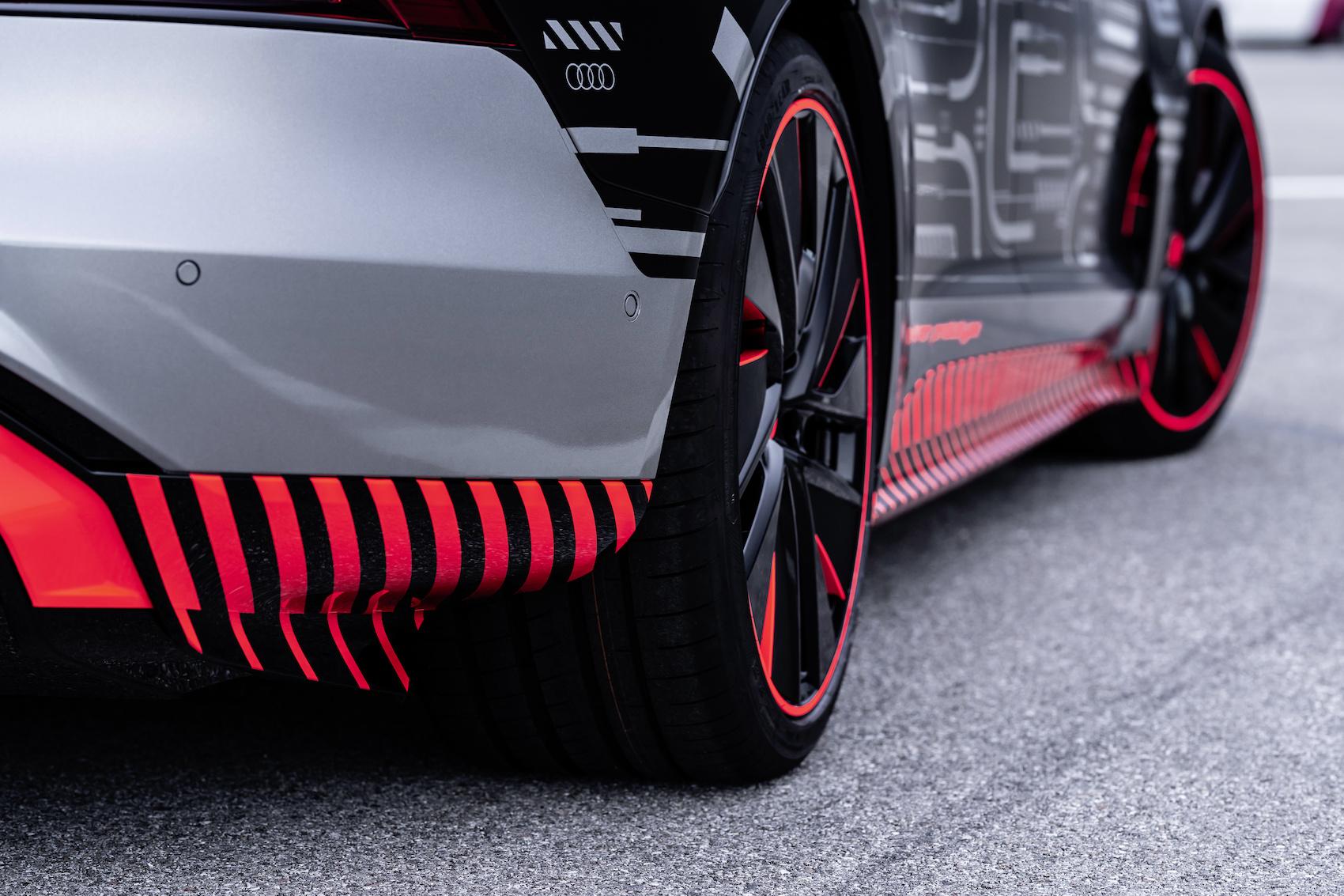 Vor der Auslieferung wird jeder Audi e-tron GT auf 40 Kilometer öffentlichen Strassen getestet. (Audi)