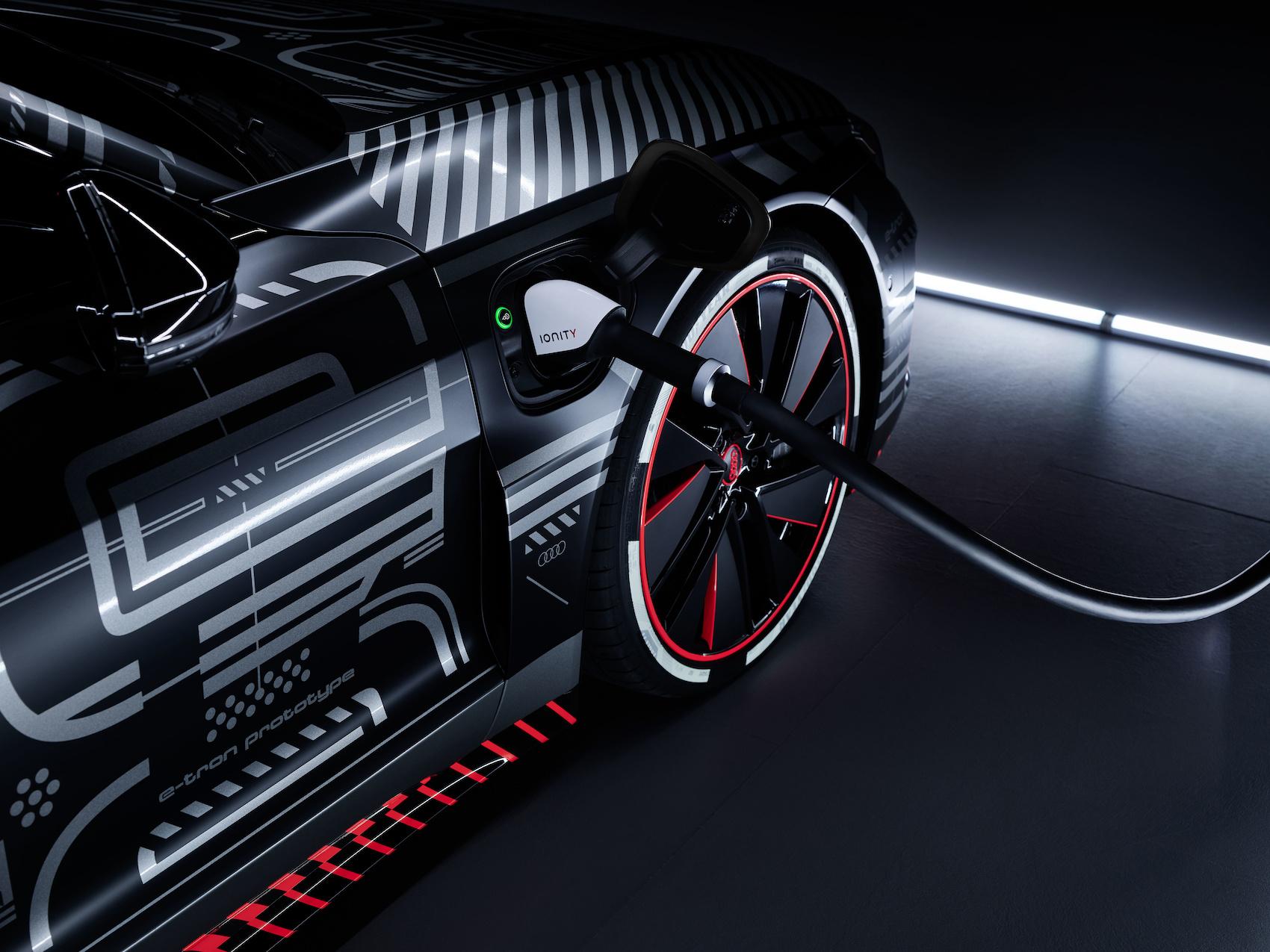 Der e-tron GT ist der erste in Deutschland gebaute reine Elektro-Audi. (Audi)